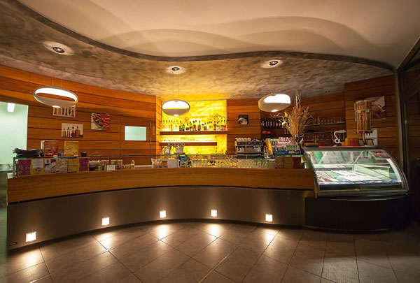 Einrichtung Bar Trient, Trentino - Italien, Bar Camping Mario