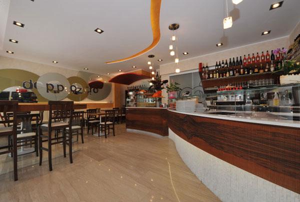 Einrichtung Bar Trento, Kitchen Coffee Doppio Zero